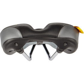 Velo Plush Trekking Saddle Herr black/grey